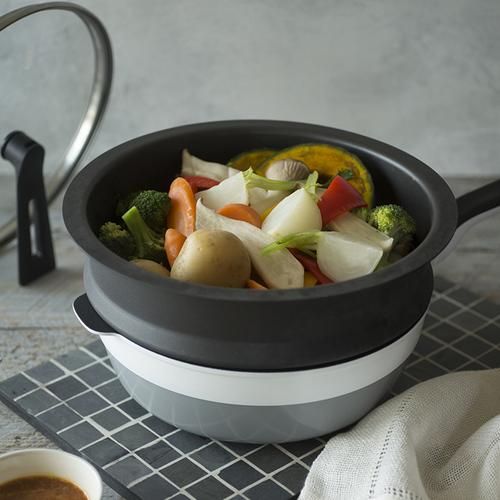 Remy pan plus|蒸鍋 (多功能萬用不沾鍋專用配件)