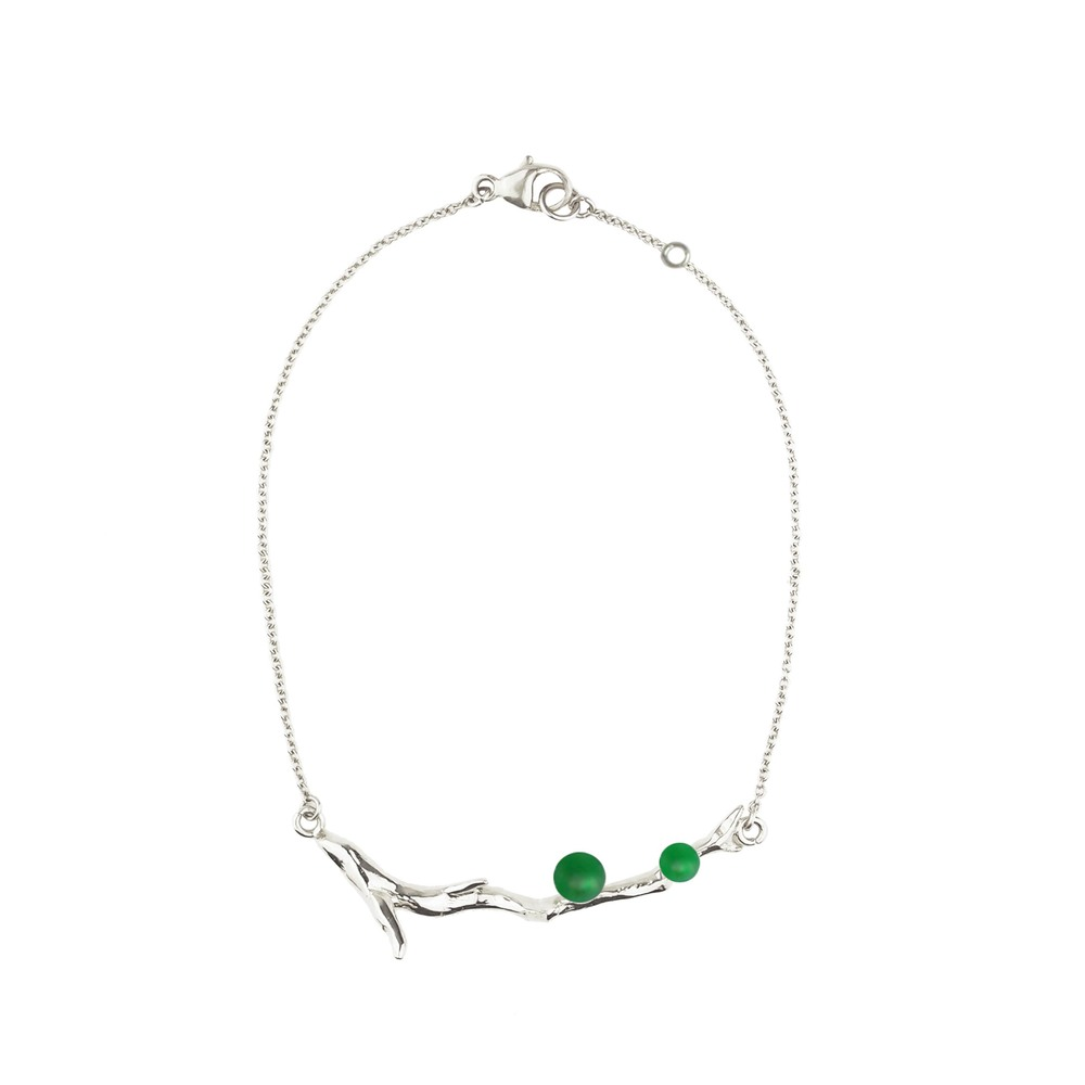 OLIVIA YAO JEWELLERY|VERT LAURIER 純銀手環