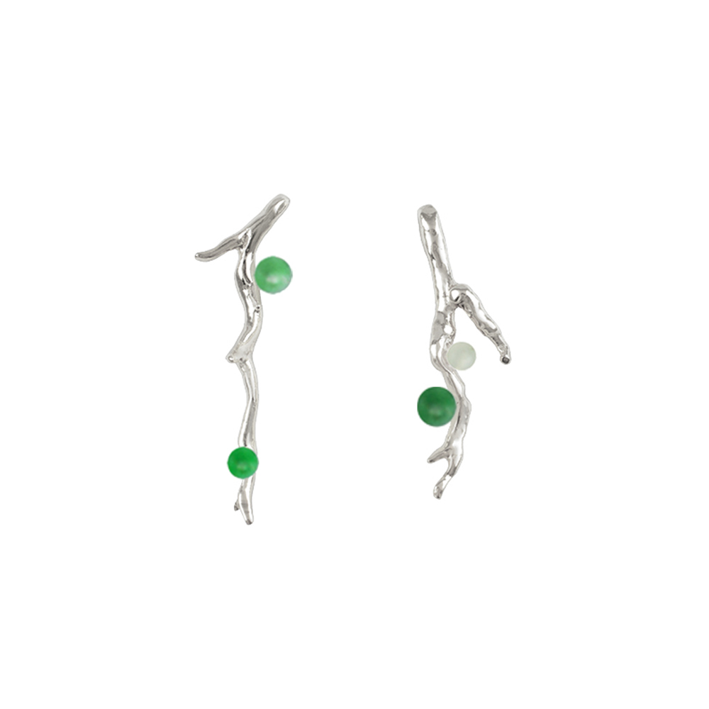 OLIVIA YAO JEWELLERY|VERT LAURIER 純銀耳環