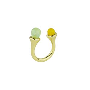 OLIVIA YAO JEWELLERY|LIPARA GOLD RING 彩色寶石戒指