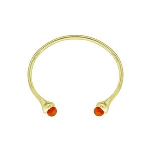 OLIVIA YAO JEWELLERY|LIPARA CORNELIAN CUFF 紅瑪瑙手環