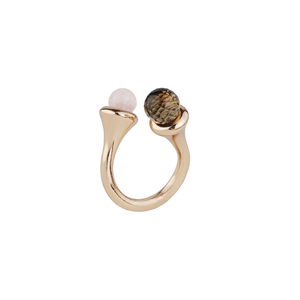 OLIVIA YAO JEWELLERY|LIPARA TWIST RING 彩色寶石戒指