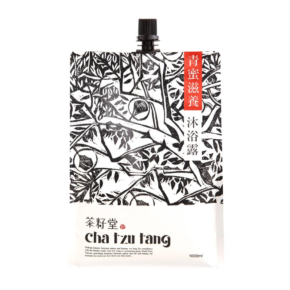 茶籽堂|青蜜滋養沐浴露補充包