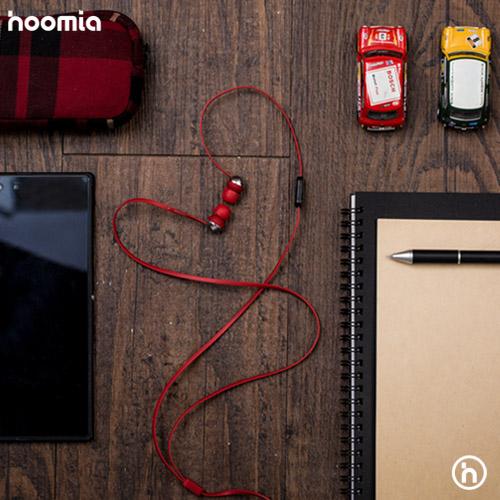 hoomia|C8S金屬魔球入耳式立體聲耳機 (時尚紅)
