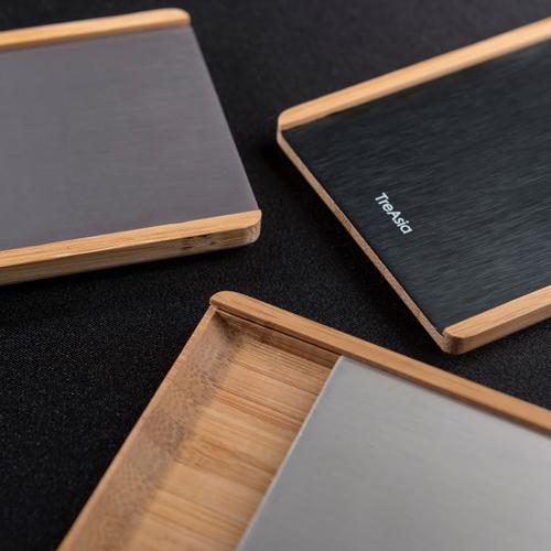 TA+d|SLIDE 燻竹名片盒(鈦)