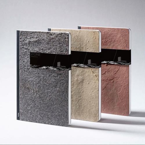 TA+d|Stone Notebook-原石筆記本-小(黑)