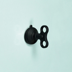 dipper|無痕強力吸盤壁掛(中)-黑