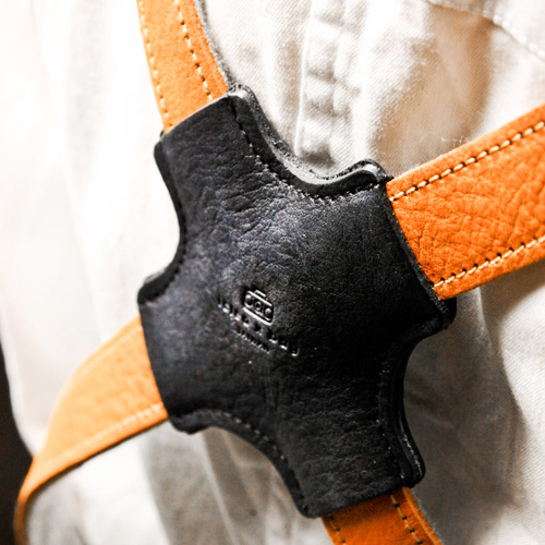 icleaXbag|手作皮革工作圍裙(肩掛式)