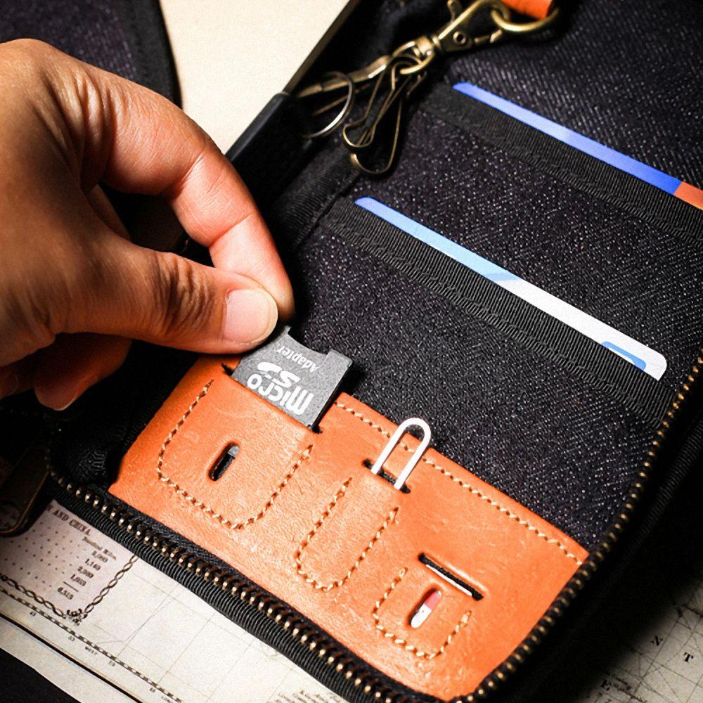 icleaXbag|真皮個性飛行護照匣