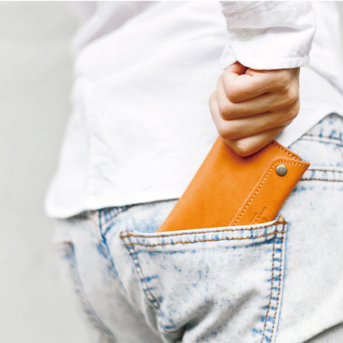 icleaXbag|經典皮革零錢卡片包