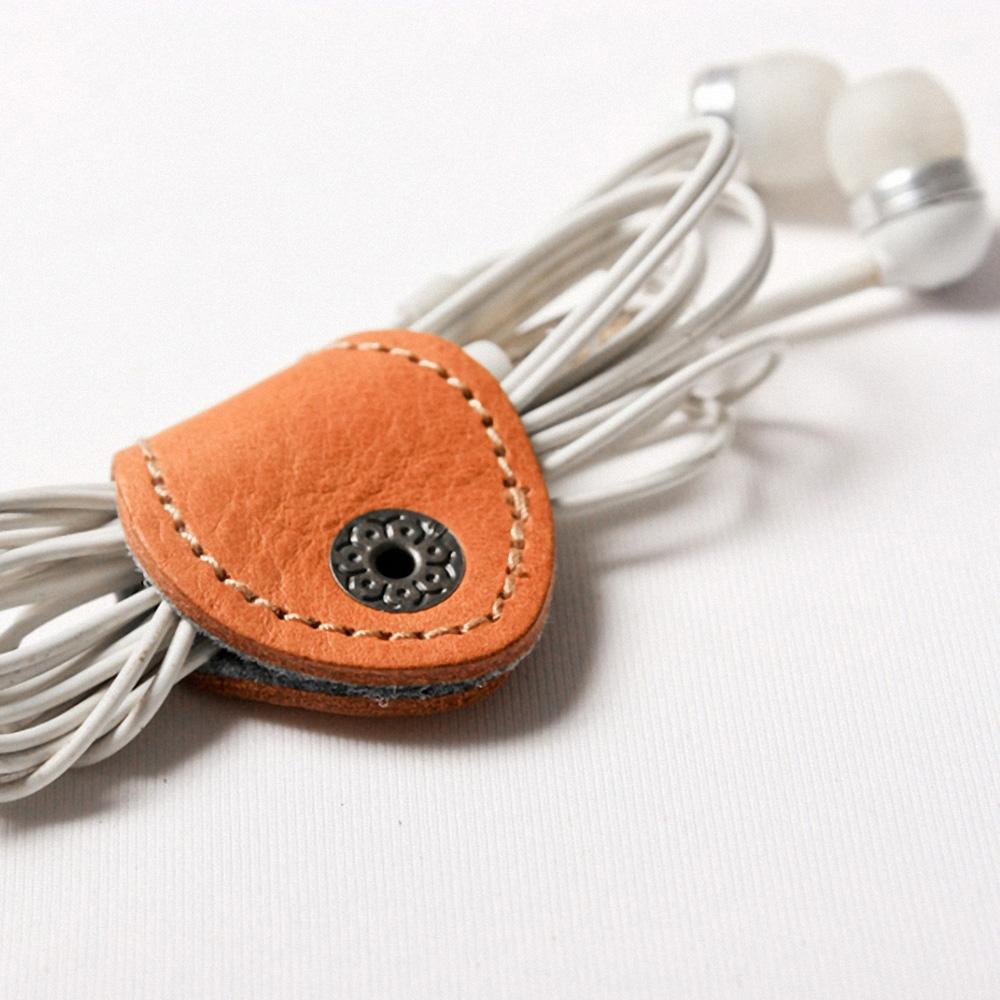 icleaXbag|手作皮革收線小幫手(棕色)