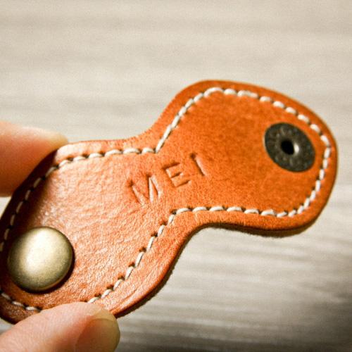 icleaXbag 手作皮革收線小幫手(黑色)