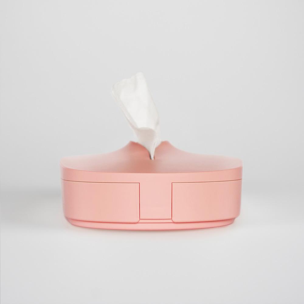 GeckoDesign|伸縮面紙盒(櫻花粉)