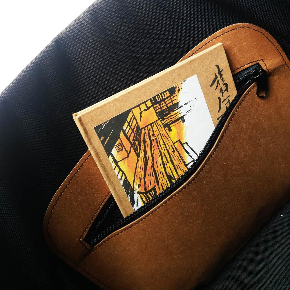 FENZ|超輕防潑濺郵差包(潮淺褐色)