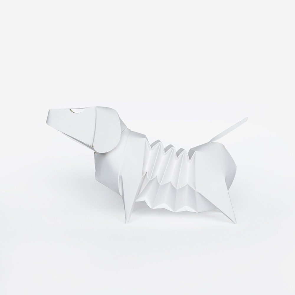 GeckoDesign 百變臘腸狗存錢筒系列 (DlY著色版)