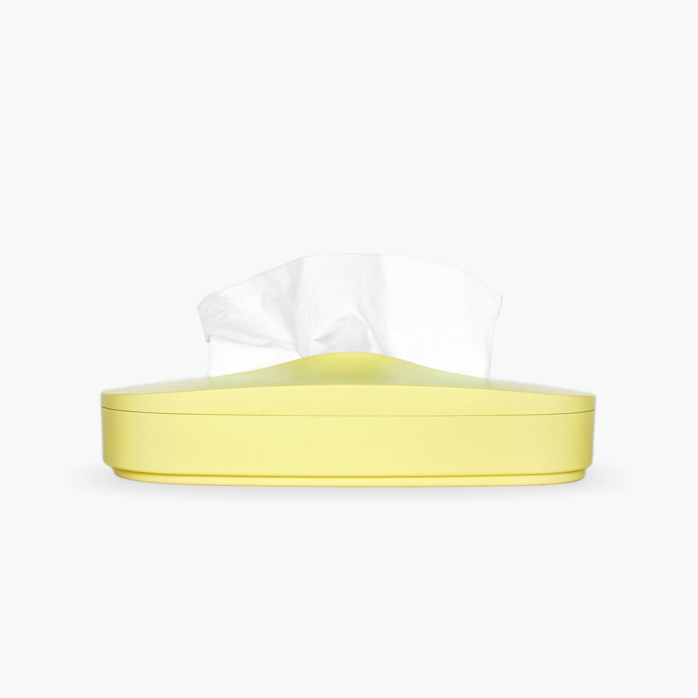 GeckoDesign|伸縮面紙盒(櫻草黃)