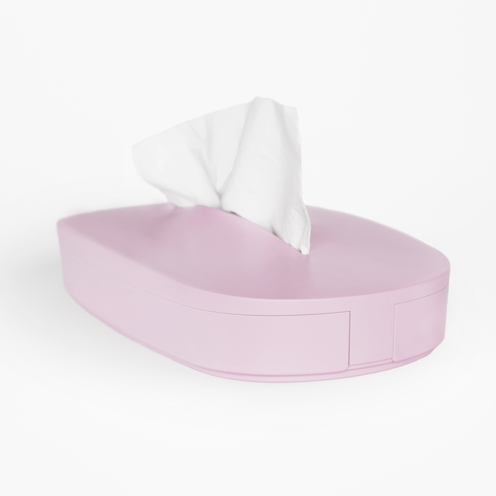 GeckoDesign|伸縮面紙盒(芭蕾舞鞋粉)