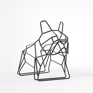 Liberté Design, French bulldog letter rack 法鬥犬置物架