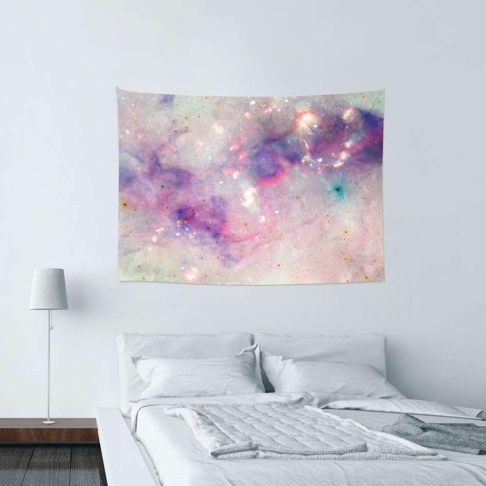 UMade|藝術家創作壁幔 -The Colors Of The Galaxy - Barruf (150x112cm)