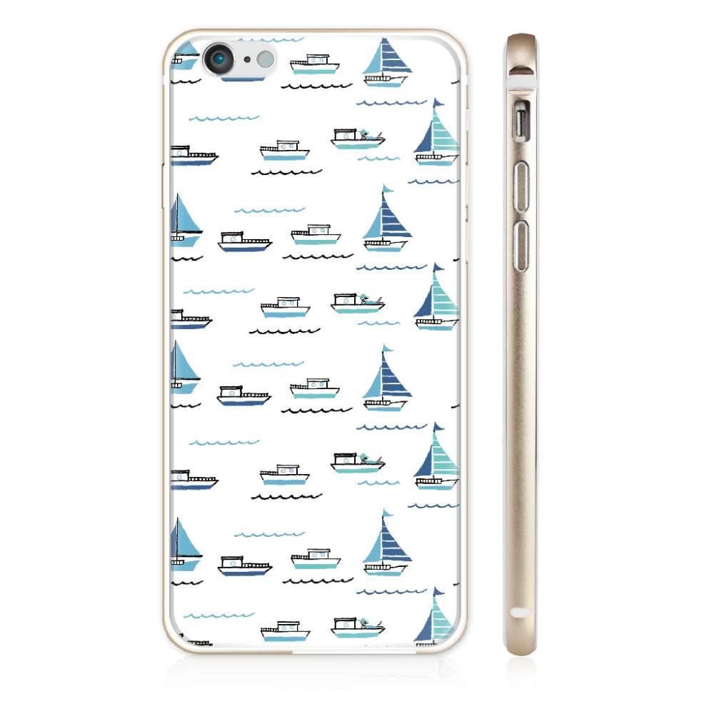UMade|藝術家創作iPhone手機殼 - 帆船- Naho Ogawa