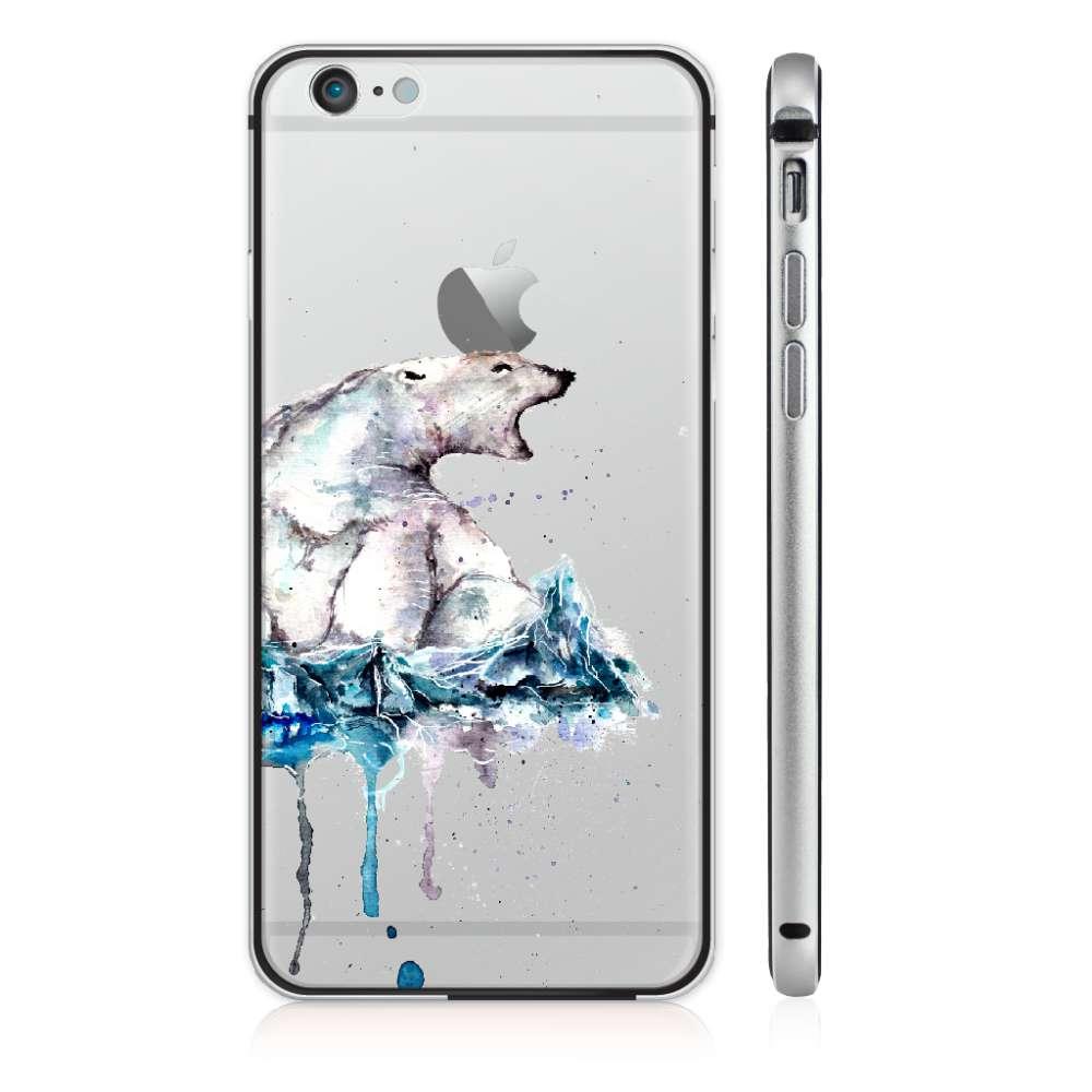 UMade|藝術家創作iPhone手機殼 - SKRIK北極熊的怒吼 - Cub
