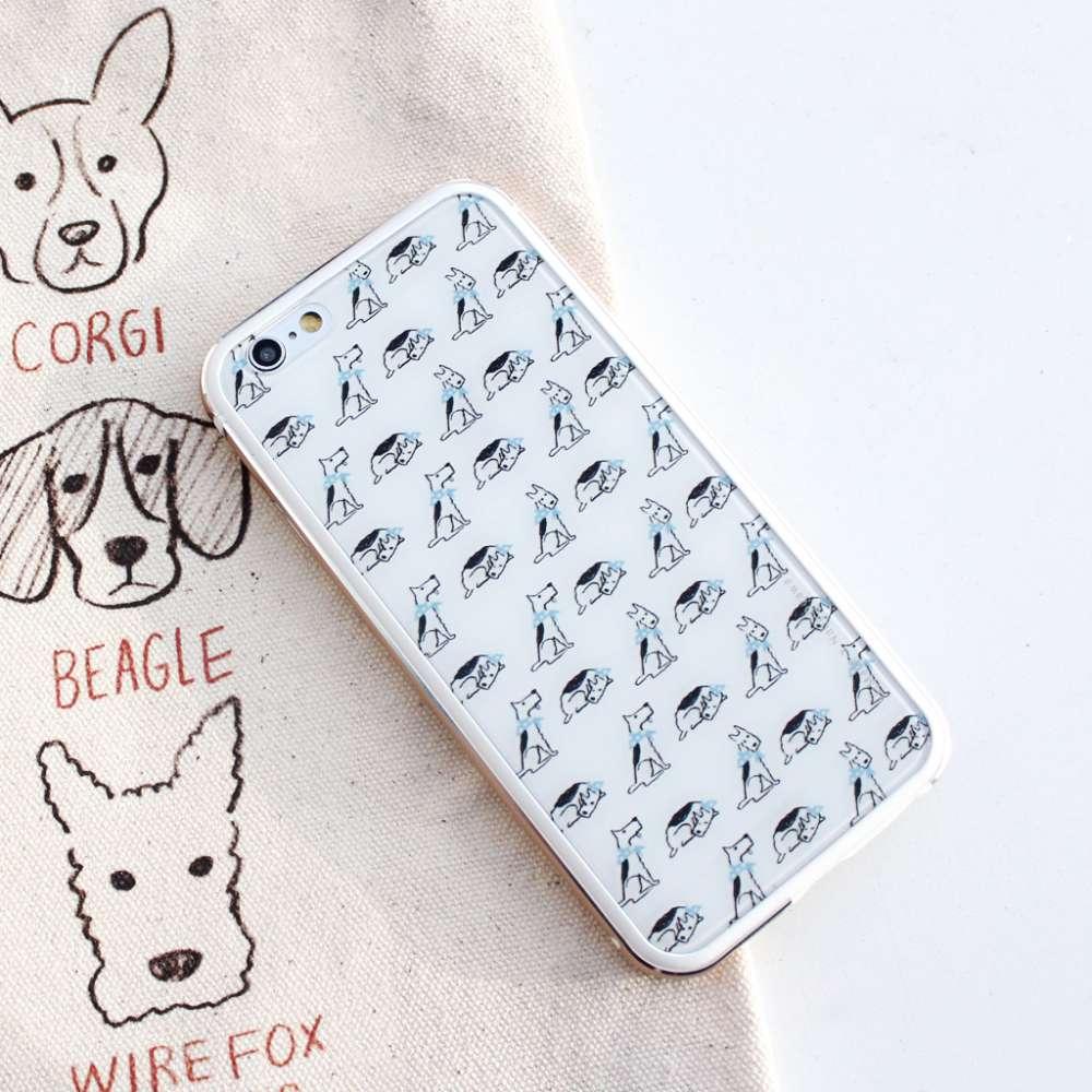 UMade|藝術家創作iPhone手機殼 -  Doggy Doggy Doggy- Naho Ogawa