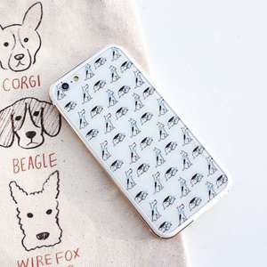 UMade 藝術家創作iPhone手機殼 -  Doggy Doggy Doggy- Naho Ogawa