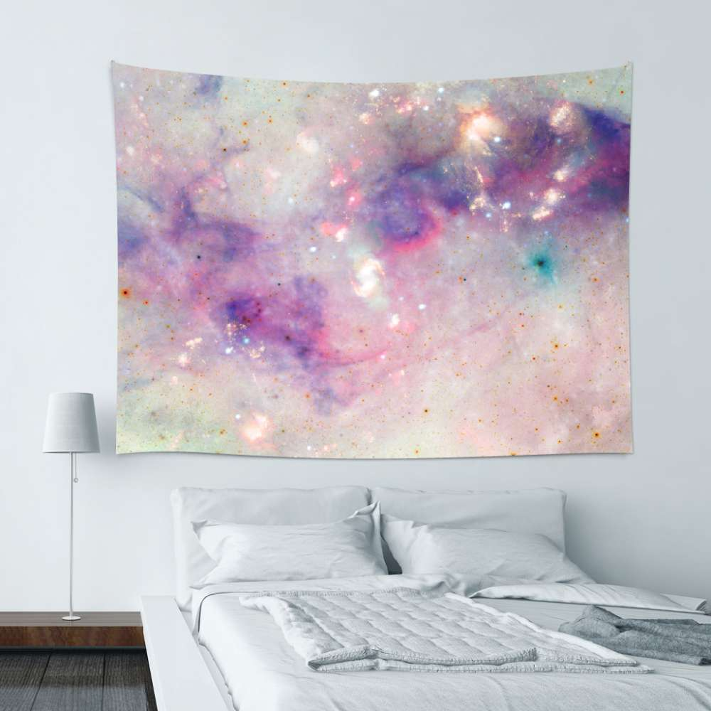 UMade|藝術家創作壁幔 -The Colors Of The Galaxy - Barruf (200x150cm)