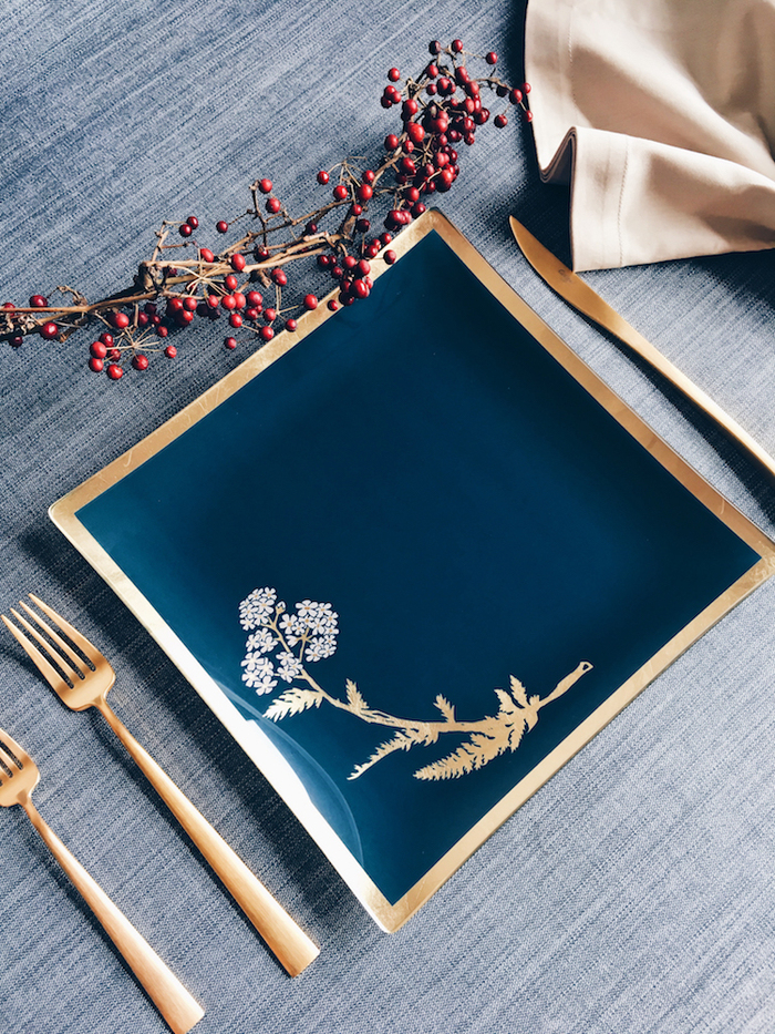 WEN PIIM | Venus Healing Glass Plate Gift x 維納斯的治癒大方玻璃盤