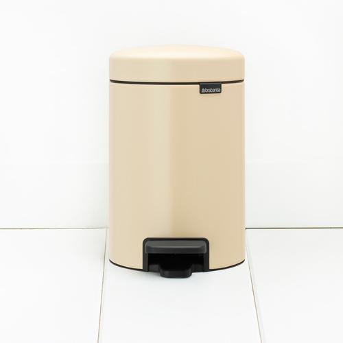 Brabantia| NEWICON環保垃圾桶 │杏仁黃 3L