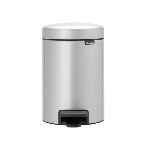Brabantia  NEWICON環保垃圾桶 │金屬灰 3L