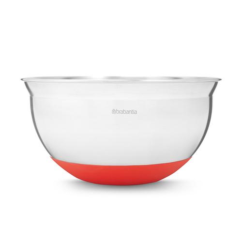 Brabantia| 不鏽鋼調理缽 │紅色