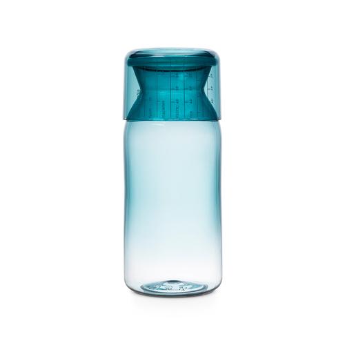 Brabantia|粉彩量杯曲線儲存罐1.3L-薄荷藍