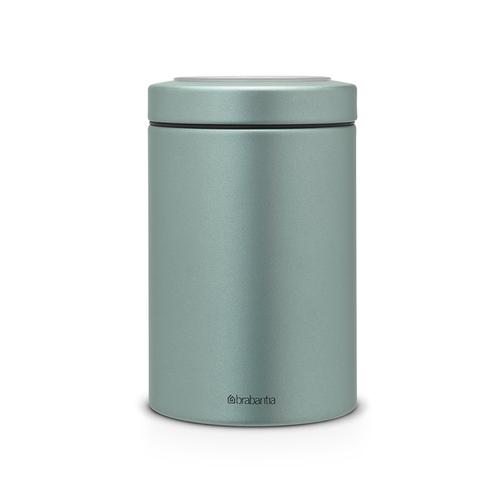 Brabantia|  金屬藍食物儲存罐 1.4L