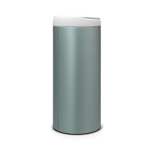 Brabantia| 新掀式垃圾桶 │金屬藍