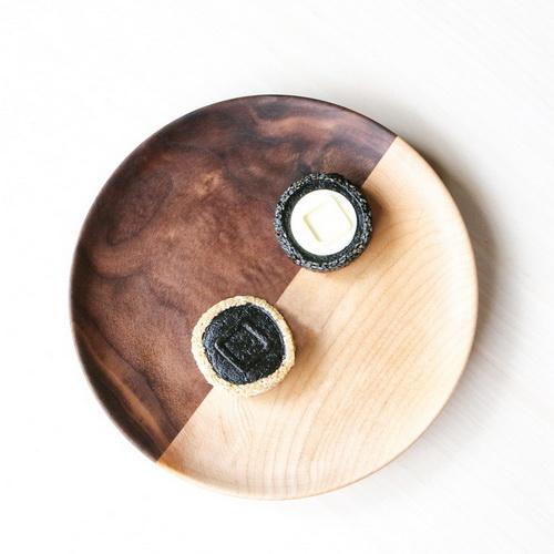 木入三分 木合實木盤