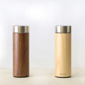 木入三分|兩倆一起 汋飲保溫瓶-胡桃&栓木