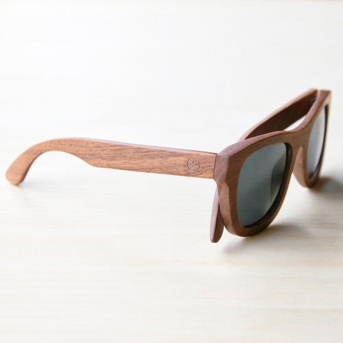 木入三分 四目偏光實木太陽眼鏡