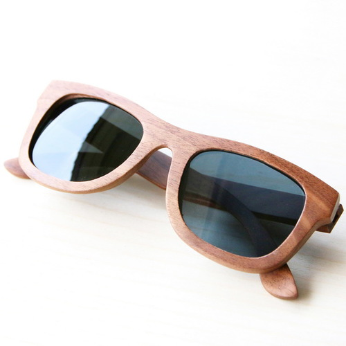 木入三分|四目偏光實木太陽眼鏡