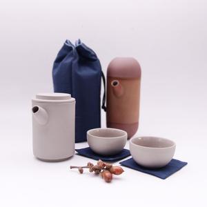 【母親節限量包裝】MOTOR 享福茶具組 Round Travel teapot set (附旅行保護袋)
