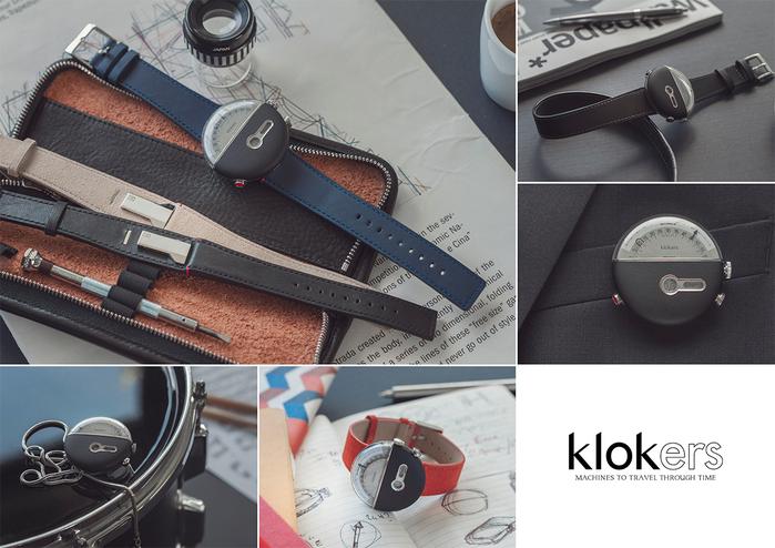 (複製)klokers | 庫克錶 KLOK-01(靛藍皮革)