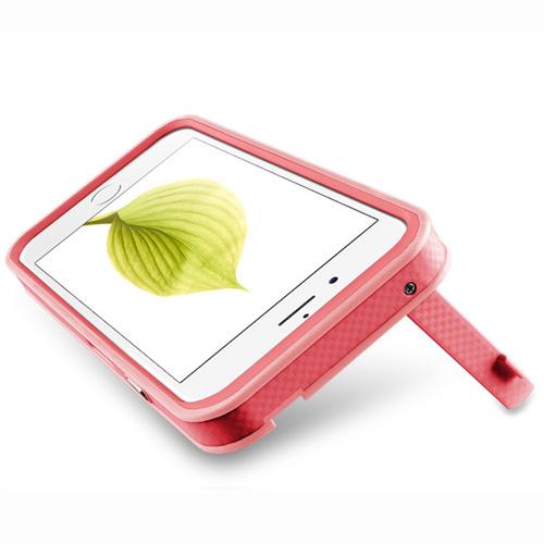 Navjack Upgrade Version|iPhone 6 /  6s 撞色可立式保護框(蜜桃粉)