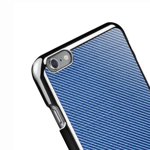 Navjack iPhone 6 Plus / 6s Plus 玻纖保護背蓋(藍)