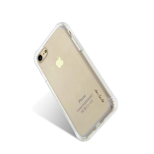 Navjack|iPhone 7 | 8 共用  (4.7吋) 超抗摔吸震空壓保護殼 霧白色