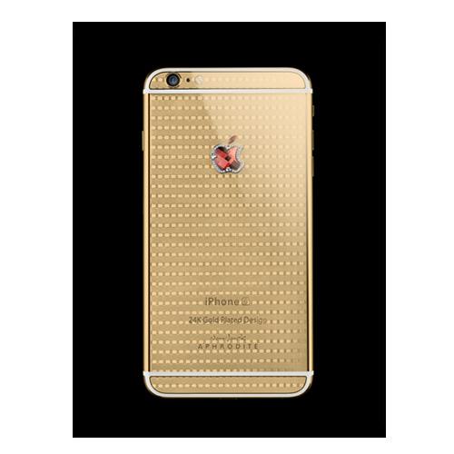 Navjack Aphrodite|iPhone 6s 24K鍍金紅寶石(格倫紋奢華版)