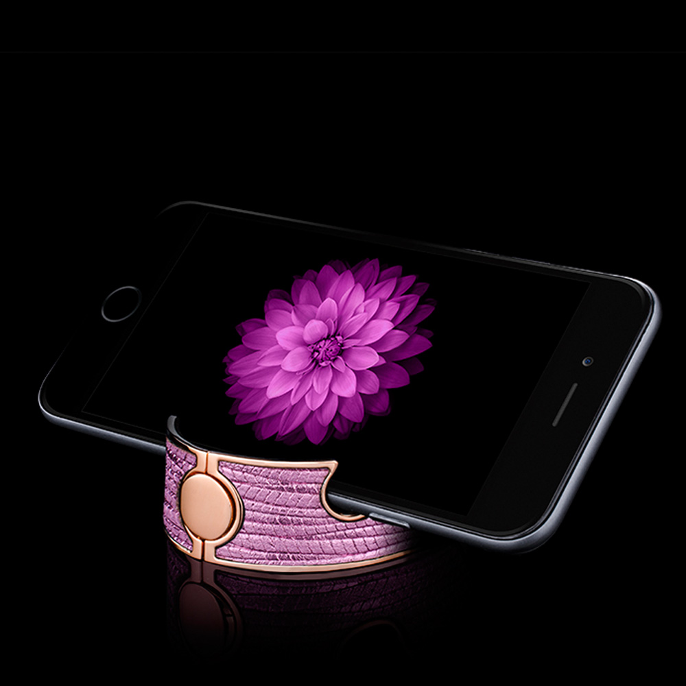 Navjack Aphrodite|22K玫瑰金手機架手環