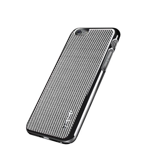 Navjack| iPhone 6 / 6s 玻纖保護背蓋(銀)