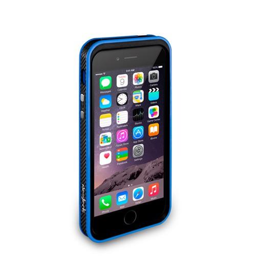 Navjack Upgrade Version|iPhone 6 /  6s 撞色可立式保護框(湛藍色)