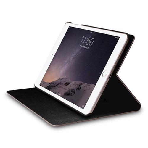 Navjack|iPad mini 2&3 斑馬紋保護套(玫瑰金)