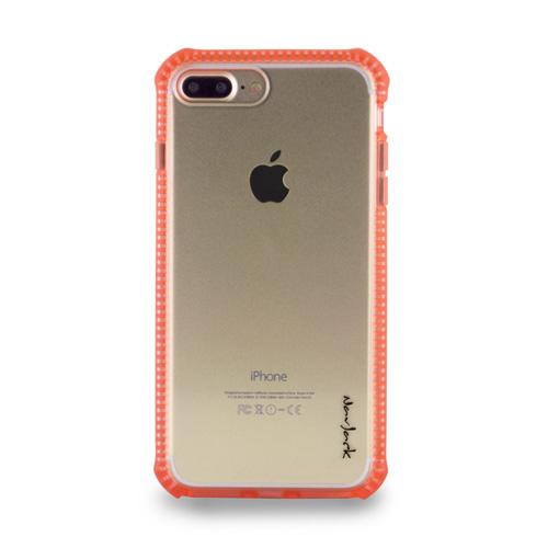 Navjack iPhone 7   8 Plus 共用 (5.5吋) 超抗摔吸震空壓保護殼 粉橘色